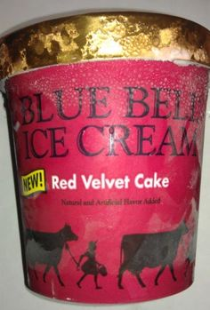 blue bell ice cream red velvet cake- nothing beats blue bell and this one is delish