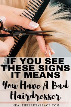 5 Signs You Have A Bad Hairdresser Short Grey Hair, Short Hair With Layers, Short Hair Cuts, Short Hair Styles, Sleeping With Wet Hair, Smooth Hair, Thin Hair, Haircuts For Thin Fine Hair, Best Hairdresser
