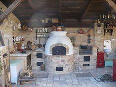 Pergola Ideas For Patio Info: 7009927857 Outdoor Kitchen Patio, Casa Patio, Pizza Oven Outdoor, Rustic Patio, Outdoor Tiles, Outdoor Kitchen Design, Patio Roof, Patio Design, Pergola Ideas For Patio