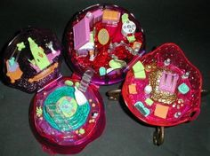 1996 - Polly Pocket Jewel Magic Ball - Sparkle Surprise - Mattel/Bluebird Toys