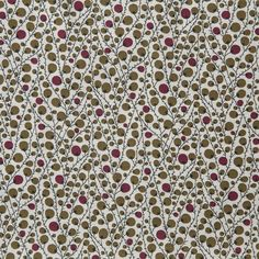 Pima Cotton Lawn Berries Olive