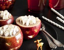 Pommes surprises au caramel mou
