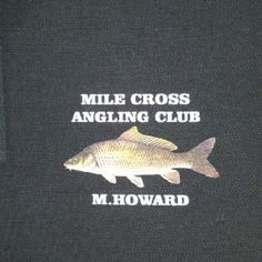 Personalised Fishing Polo Shirts
