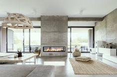 "Linear See-Thru 72""  : VITA Fireplaces"