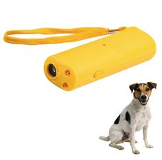 """This awesome device stops Dog Barking by emitting a high pitch sound heard only by dogs, this genius little device works on the same principle as a """"dog training whistle""""! Stop your dog (or your neigh http://dogcoachinggenius.com/category/dog-training-tips/"""