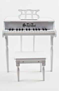 Miniature Baby Grand Piano & BenchMiniature Baby Grand Piano & Bench