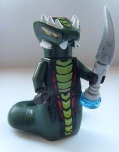 Acidicus LEGO Ninjago Minifigure