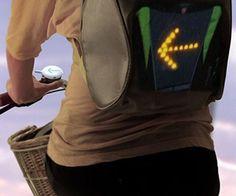 turn signal bike vest