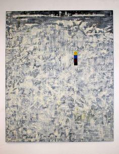 © Wilhelm Roseneder. Strategie, 1992. Öl auf Leinen/Oil on canvas 198x162 cm
