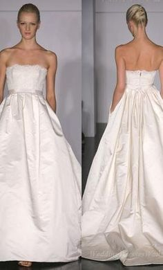 Amsale: buy this dress for a fraction of the salon price on PreOwnedWeddingDresses.com