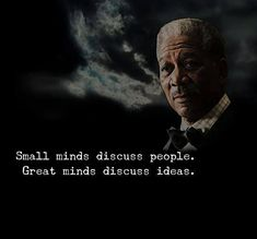 Positive Quotes : QUOTATION – Image : Quotes Of the day – Description Strong minds discuss people.. Sharing is Power – Don't forget to share this quote ! https://hallofquotes.com/2018/04/02/positive-quotes-strong-minds-discuss-people/