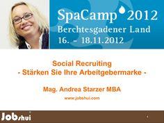 Social Recruiting - Denken Sie nicht nur an Ihre Produkte sondern auch an die Arbeitgebermarke! Internet, Workshop, Products, Atelier, Work Shop Garage