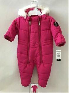 NWT Boys Coat Jacket Bunting Snowsuit NEW 6m 9m 12m 24m Columbia Pram Hooded