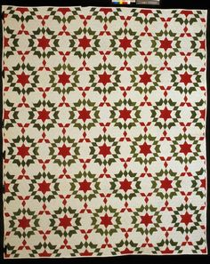 Christmas Star.. 1876-1900 The Quilt Index