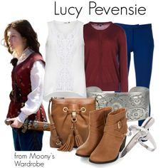 """Lucy Pevensie"" by evalupin on Polyvore"