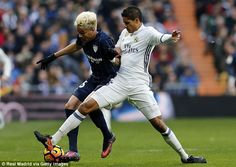 Raphael Varane is also struggling with a knock - as is fellow central defender Pepe