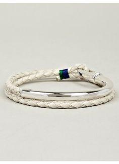 Miansai Quay Leather Bracelet