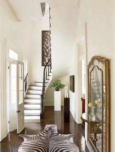 zebra-rug-entryway