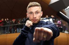 Carl Frampton excited about making his American debut