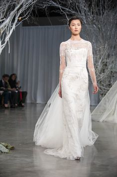 Monique Lhuillier Fall 2013 Bridal Collection