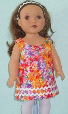 Flower doll dress by BeeZee for $5.00