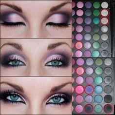 Smokey Colored Eye
