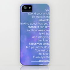 Looking For Alaska, John Green iPhone Case by gabsnisen - $35.00