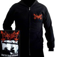 Official Mayhem black metal band hoodie available in a variety of sizes Band Hoodies, Heavy Metal Bands, Music Bands, Black Metal, Motorcycle Jacket, Suits, Jackets, Fashion, Clothing Apparel