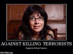 Against killing terrorists