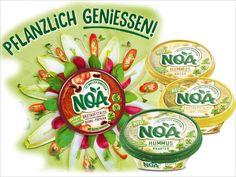Sind Sie vom Typ her eher ein Dipper, Snacker oder Streicher? Keine Sorge, Sie müssen sich nicht entscheiden, denn NOA ist für individuelle Genießer gemacht.
