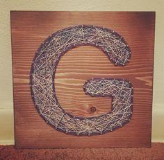 Letter G, Wedding gift ���� ❤️ #stringart #handmade  #nailart #threadart  #stringandnails #kiwistrings  #walldecor #wallart #gallerywall #homedecor  #woodsigns #signmaker #etsyseller #etsy #handmadeart  #wedding  #weddinggift  #blockletters #monogram #initial #letterg  #blue  #bluestrings #etsyshop #shopetsy #shophandmade #variegated http://gelinshop.com/ipost/1523645128643546083/?code=BUlEywAjYvj
