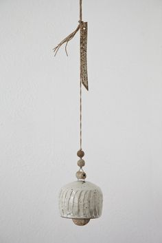 Image of SMALL CERAMIC BELL  busybeing.com