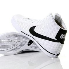 Nike Sweet Classic High Perforated/ White & Black Worn a few times The front is a lil creased but other then that it's pretty new  Make a offer I'll think about it Nike Shoes Sneakers