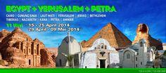 EGYPT-YERUSALEM-PETRA 11 hari CS-014 DPK  fb.com/nchristour