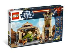 Jabba's palace lego playset. It's even got a tiny little Salacious Crumb and princess Leia as Boushh!! Kinda bummed that there is no Max Rebo band or Sarlacc, though.