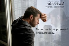 The bench by Theresa Sederholt Tomorrow Is Not Promised, Good Books, Bench, In This Moment, Reading, Fictional Characters, Reading Books, Fantasy Characters, Great Books