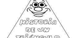 El Martes, la seño Fini nos contó la historia de un triángulo y nos gustó muchísimo. Nos dejó el cuento en la biblioteca, junto al del cí... School, Blog, Maths, Ideas Para, Spanish, Geometric Form, Children's Literature, Different Shapes, Poetry For Kids