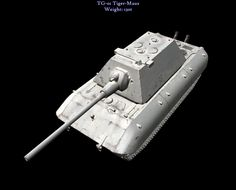 The amalgamation of design aspects of the Maus design and the Tiger II birthed this beast but it was only a incomplete prototype when captured, who knows what it would have preformed like.