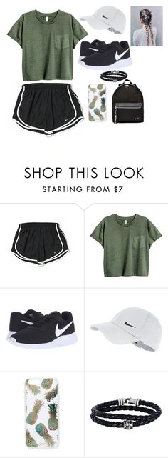 """""""Baby, I like your style..."""" by swimmer1023 ❤ liked on Polyvore featuring NIKE, Sonix and Phillip Gavriel"""