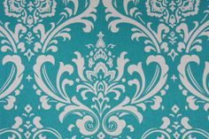 turquoise vinyl upholstery fabric | View larger image