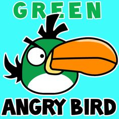 Step 400x400 Green Angry Bird How To Draw Toucan From Birds Game In Cartooning Tutorial