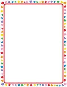Our Heart Computer Paper comes in 50 sheets per pack, a classroom-friendly quantity! Frame Border Design, Page Borders Design, Incentive Charts, Free Printable Stationery, Boarders And Frames, Kids Background, Computer Paper, Cute Girl Wallpaper, Alphabet For Kids