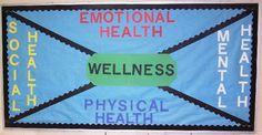 mental health bulletin board ideas | Bulletin Board Ideas for Physical Education