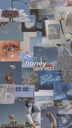 Iphone Wallpaper Tumblr Aesthetic, Mood Wallpaper, Aesthetic Pastel Wallpaper, Retro Wallpaper, Aesthetic Wallpapers, Wallpaper Quotes, Baby Blue Wallpaper, Deep Wallpaper, Blue Aesthetic Pastel