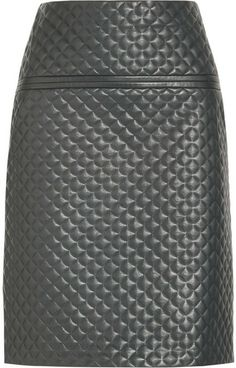 Chloé Quilted leather skirt on shopstyle.com