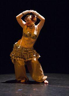 Skirt Tribal Belly Dance Steampunk Gothic by VaudevilleGypsy