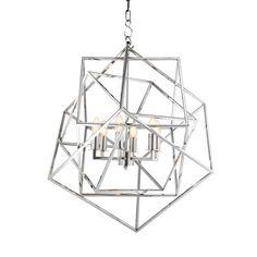 EICHHOLTZ Lantern Matrix nickel Erhellen Sie Ihr Heim mit dem Eichholtz Lantern Matrix.