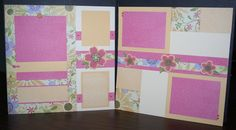 Try this layout by Tina Lovell using CTMH Bella paper with Blossom paper.