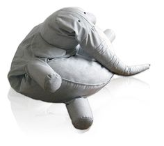 Giant Elephant Bean Bag
