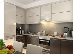 Luxury Kitchens - Regardless of whether you're planning for a move to another house or you essentially need to a kitchen redesign, these astounding kitchen Minimalist But Luxurious Kitchen Design thoughts will prove to be useful. Kitchen Room Design, Best Kitchen Designs, Modern Kitchen Design, Home Decor Kitchen, Kitchen Living, Interior Design Kitchen, Kitchen Furniture, Living Room, Modern Kitchen Cabinets